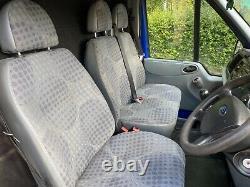 Ford Transit 350 Lwb Rwb Diesel 2.1 Tdci High Roof 2013 Van, Pas De Tva! 72000k