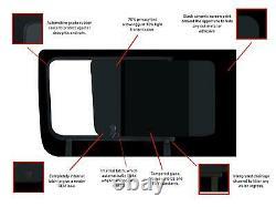 Gauche Ouverture De Porte Coulissante Main Noire Teinte Fenêtre Pour Mercedes Sprinter (06-18)