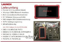 Lancement Original X431 Pro Lite V2.0 Profi Diagnosegerät Testeur Scanner Deutsch