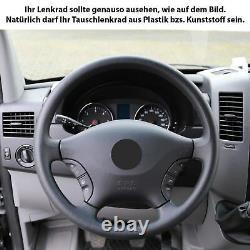 Lenkrad Neu Beziehen Mercedes W639 Vito Viano W906 Sprinter Abgeflacht 56235