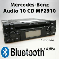 Mercedes Audio 10 CD Mf2910 Bluetooth Mp3 Audio Autoradio Rds CD Radio Streaming