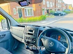 Mercedes Sprinter 2016 313 CDI Lwb Haute Toit Panneau Van Euro 5 Pas De Vat
