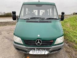 Mercedes Sprinter 208cdi Swb Auto 2003 53 000 Miles Fauteuil Roulant Accessible 12m Mot