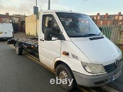 Mercedes Sprinter 311cdi Recovery Truck Lwb Lt35 Hiace Luton Crafter Transit