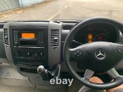 Mercedes Sprinter 313cdi Mwb 122k Fsh 12 Mois Mot Nice Van No Tva