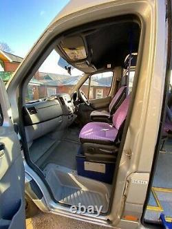 Mercedes Sprinter 511 Minibus Long Wheelbase Silver 2009