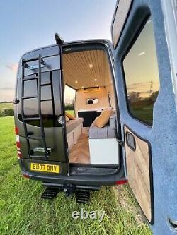 Mercedes Sprinter Mwb Camping-car Fourgon 91000 Mls