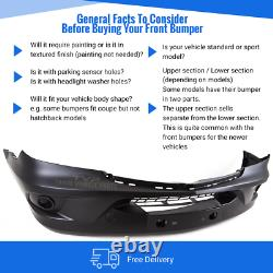 Mercedes Sprinter Ncv3 2013-2018 Front Bumper Textured Insurance Approved New