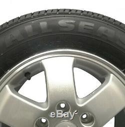 Mercedes Sprinter Vw Crafter 6x130 Van Commerciaux Cotés Roues En Alliage D'argent 16