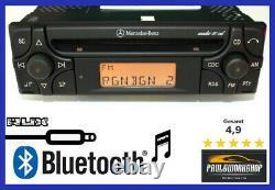 Mercedes-benz Audio 10 CD Al2910 Bluetooth + Aux-in Radio