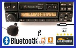 Mercedes-benz Becker Spécial Be2210 Bluetooth + Freisprecheinrichtung MIC Radio