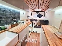 Off Grid Campervan Conversion, Mercedes Sprinter Lwb 66 Plaque
