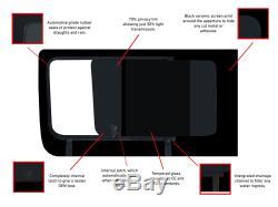 Ouverture Fixe Côté Droit À Gauche Foncé Tint Windows Pour Mercedes Sprinter (06-18)