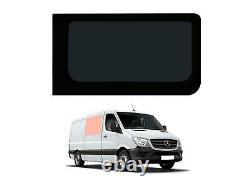 Panneau Latéral Droit Dark Tint Fixed Window Glass Pour Mercedes Sprinter (06-18)