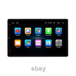 Rotatable 10.1po Android 9.0 Double Din Car Stereo Bluetooth Wifi Mp5 Player Gps