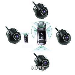 Système De Moniteur 360 Vue Assistance De Stationnement Panoramique Système De Caméra De Recul Panoramique
