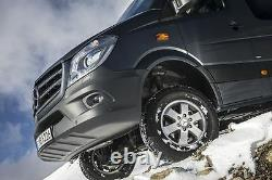 Véritable Mercedes-benz Sprinter Ensemble De 16 Roues En Alliage Et Kit De Montage Complet