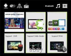 Voiture Bluetooth Sat Nav Gps Système De Navigation Stereo Radio Mp5 Lecteur Android 9.1