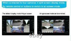Vue Complète À 360° Avec Caméra Avant/arrière/droite/à Gauche 4 Caméras Dvr Et Surveillance Vidéo