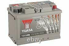 Yuasa Ea770 12v Type 067 096 Batterie De Voiture 4 Ans Garantie Ybx5096